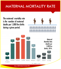 ASEAN Maternal Mortality Rate