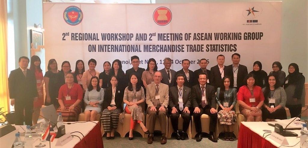 2nd ASEAN Regional Workshop on International Merchandise Trade Statistics (IMTS) on Hanoi