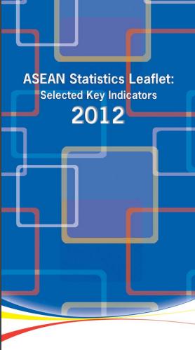 ASEAN statistics leaflet 2012
