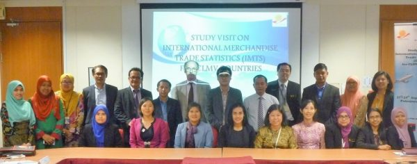 Study Visit on International Merchandise Trade Statistics (IMTS) to Malaysia