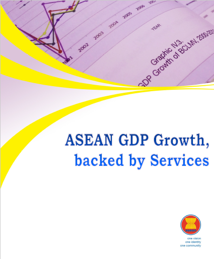 ASEAN GDP Growth, backed by Services 2013