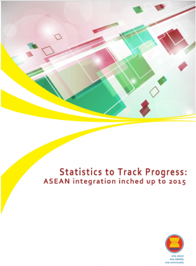 Statistics to Track Progress - ASEAN integration inched up to 2015
