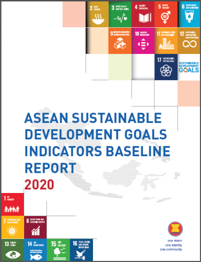 ASEAN SDG Indicators Baseline Report 2020 - Cover 2